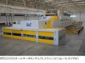 MFES23000オールサーボタンデムプレスライン(ビジョンパレタイザ付)
